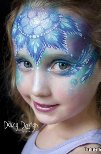گریم های جالب چهره کودکان