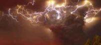 شگفتی دانشمندان از صاعقه در ابر آتشفشان
