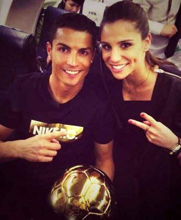 همسر جدید کریستین رونالدو فوتبالیست معروف (عکس)