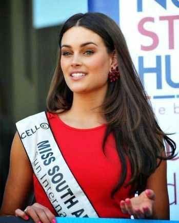 زیباترین دختر آفریقای جنوبی در سال 2014