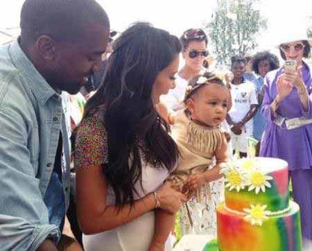 عکس هایی از جشن تولد میلیاردی دختر کیم کارداشیان