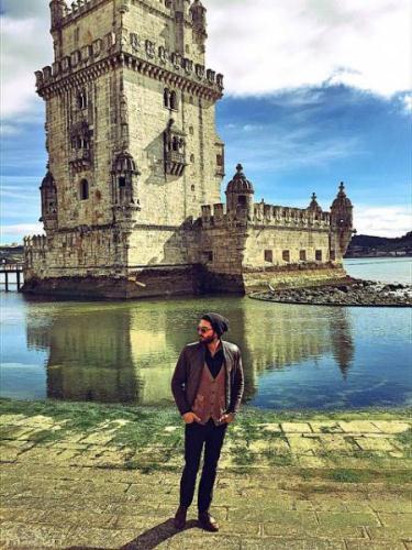 عکس های جذاب علیرضا حقیقی در سفر به اروپا