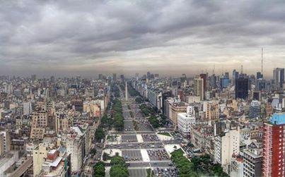 پهن ترین خیابان جهان در آرژانتین (عکس)