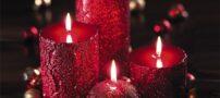 نمونه هایی زیبا از تزیین شمع های هفت سین 99