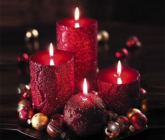 نمونه هایی زیبا از تزیین شمع های هفت سین 94