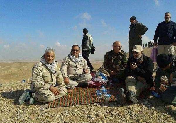 عکس سردار سلیمانی امروز در تکریت عراق