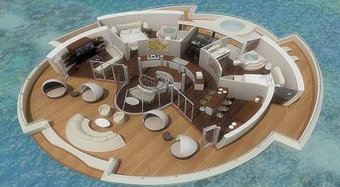 هتل شناور خورشیدی