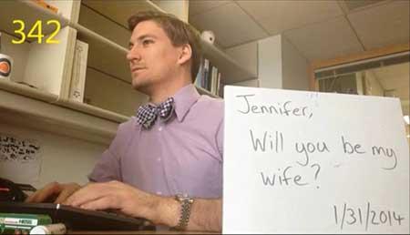 عجیب ترین خواستگاری ممکن یک مرد از یک خانم