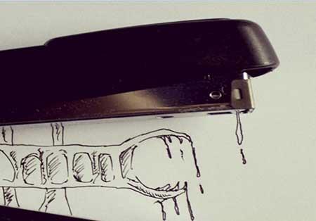نقاشی های زیبا با استفاده از ابزار آلات بازیافتی