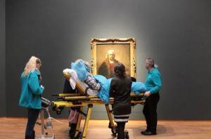 اقدامی زیبا برای افراد در حال مرگ (عکس)