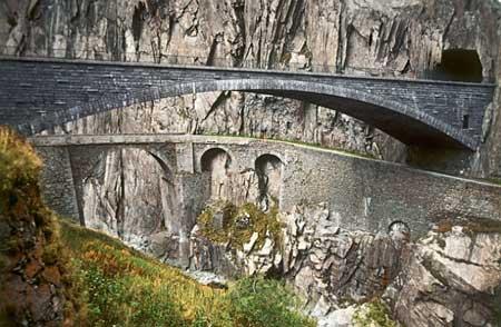 پل شیطان در سوئیس + تصاویر