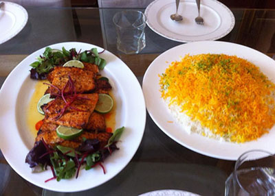 آموزش طرز تهیه فيله سالمون مخصوص شب عید