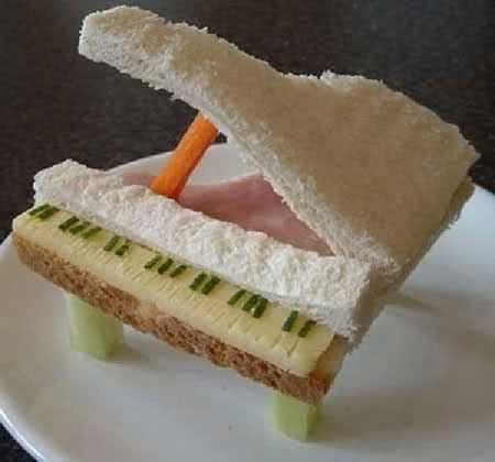عکس های دیدنی از ساندویچ های خلاقانه