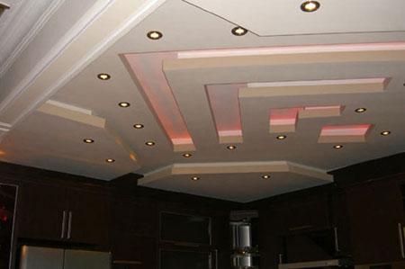 نمونه هایی زیبا از کناف کاری سقف