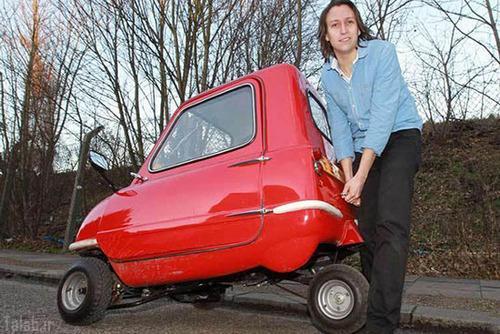 تصاویری از کوچک ترین خودروی جهان