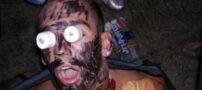 عکس های خنده دار از نقاشی کشیدن روی بدن انسان