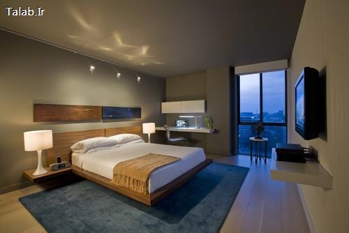 چیدمان بسیار زیبا برای اتاق خواب