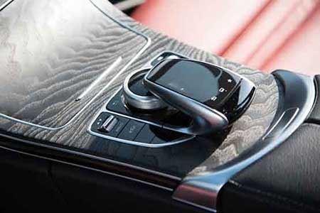 خودروی لوکس و فول آپشن مرسدس بنز + تصاویر