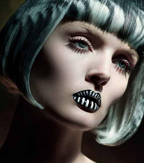 زیباترین مدل های میکاپ فانتزی