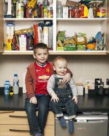 دو برادری که فقط فست فود میخورند ! (عکس)