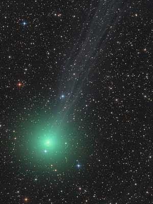 خطرناک ترین دنباله دار کهکشان راه شیری +عکس