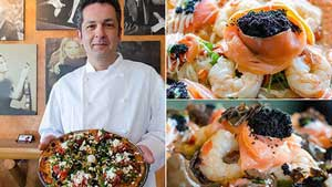 گرانترین پیتزای دنیا در یک رستوران ایرانی + عکس