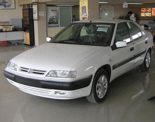 قیمت ماشین زانتیا