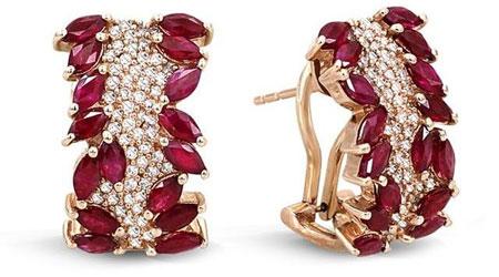 مدل جواهرات زیبا به رنگ سال 2015