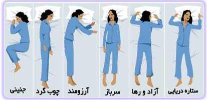 طالع بینی نحوه خوابیدن