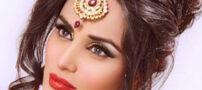 مدل های زیبای میکاپ عروس هندی