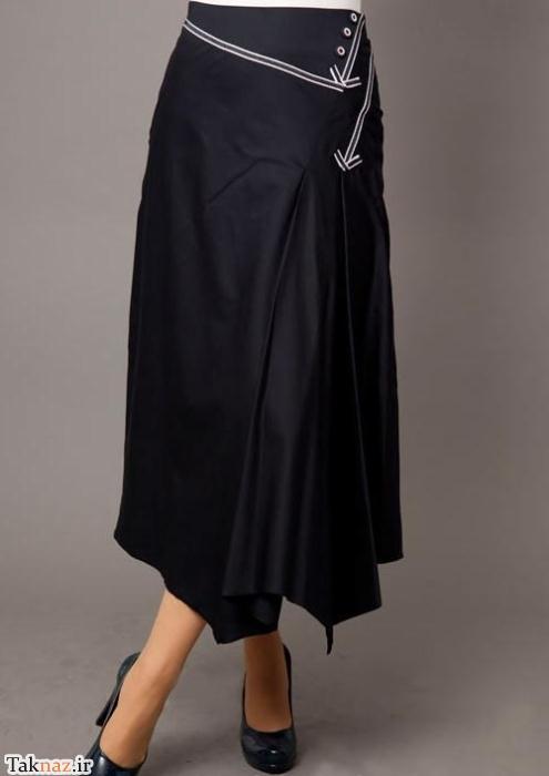 مدل های دامن بلند دخترانه مخصوص سال 99