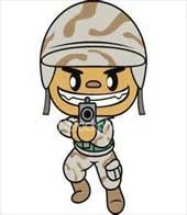 معمای تصویری سرباز را پیدا کن