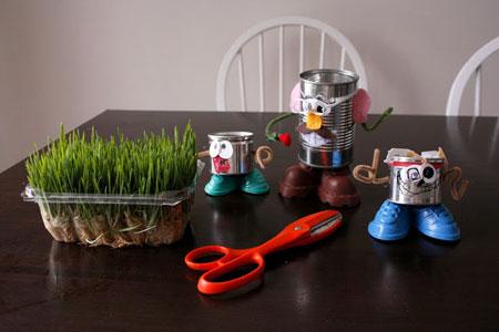 درست کردن سبزه هفت سین مخصوص کودکانتان