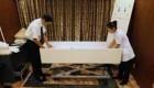 افتتاح جدیدترین هتل برای استراحت کردن اجساد در ژاپن