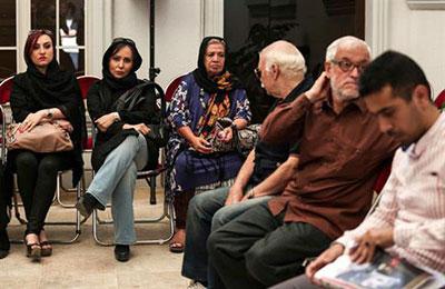 مراسم تشییع بازیگر پیشکسوت سینما و تلویزیون