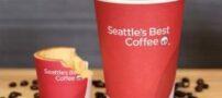 فنجان های خوردنی قهوه (عکس)