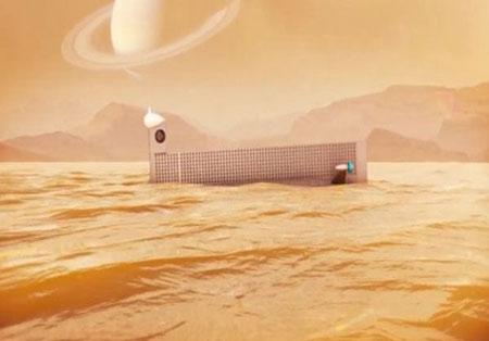 ساخت زیر دریایی ناسا برای اکتشافات دریاهای تیتان + عکس