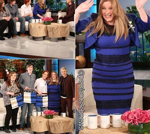بالاخره رنگ لباس جنجالی مشخص شد (عکس)