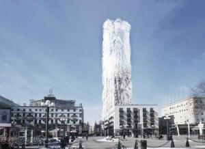 تصاویر جالب و دیدنی از ساختمان پشمالو