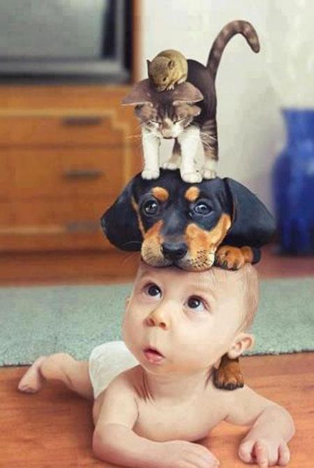 عکس های بامزه و دیدنی کودکان (3)