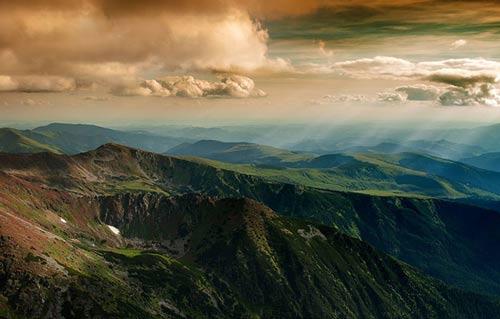 طبیعت بی نظیر رومانی به روایت عکس