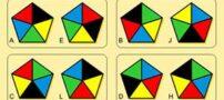 معمای جالب شکل های دوقلو