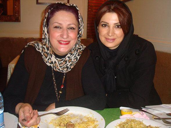 عکسهای مریم امیر جلالی و دخترش