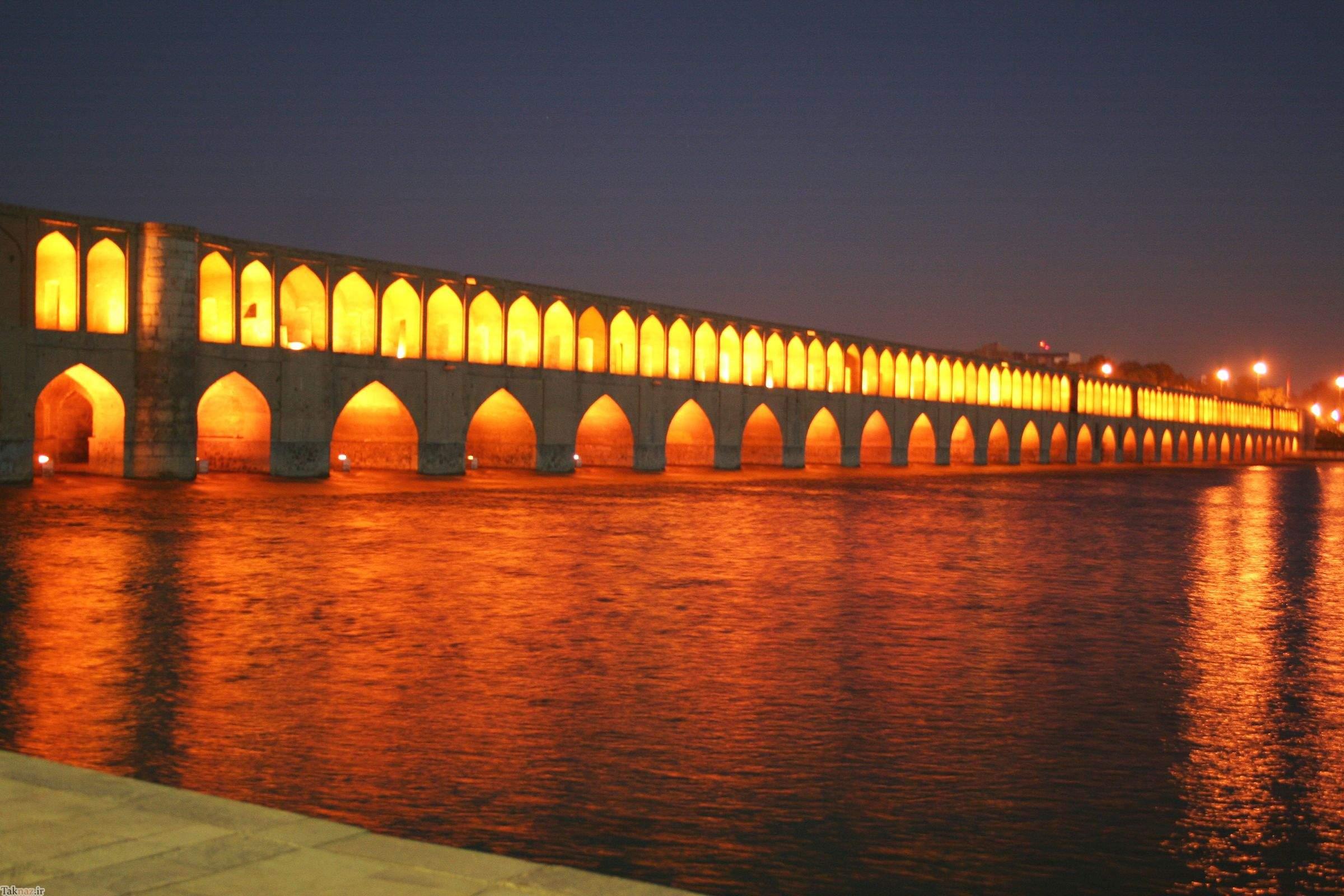 همه چیز در مورد سی و سه پل اصفهان