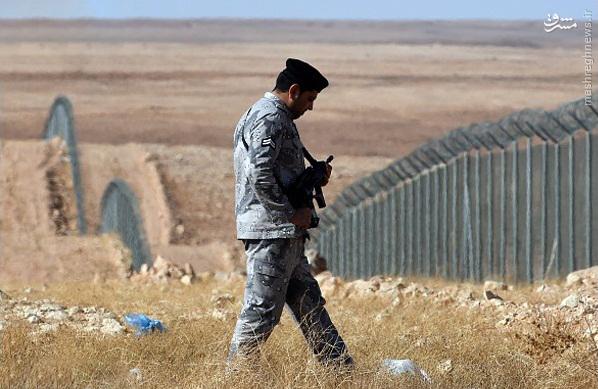 بزرگترین دیوار امنیتی دنیا در عربستان از ترس داعش (عکس)