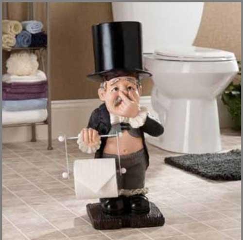 عکس های جالب از دستمال توالت های خلاقانه