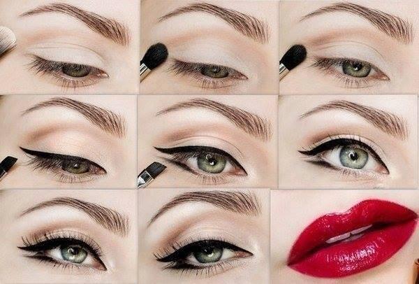 مدل های زیبای میکاپ چشم