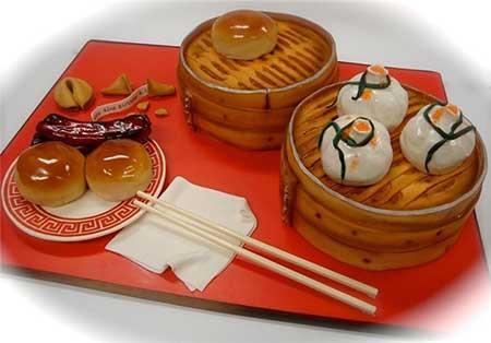 کیک هایی به شکل ساندویچ و غذا (عکس)