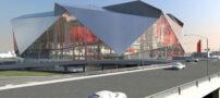 استادیوم با سقف تاشو + عکس
