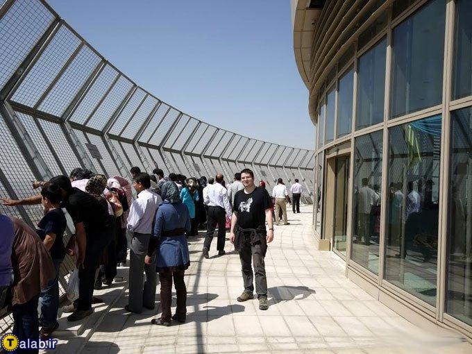 تصاویری متفاوت از تهران جدید